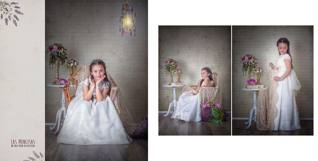 fotografías de comunión ,Natalia 2