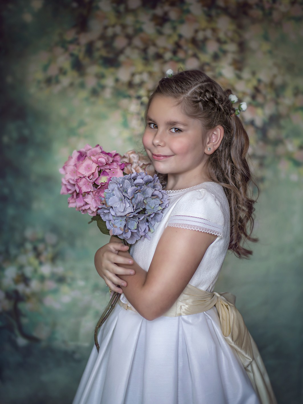 fotografa de niños y familias, comunión Maira 01