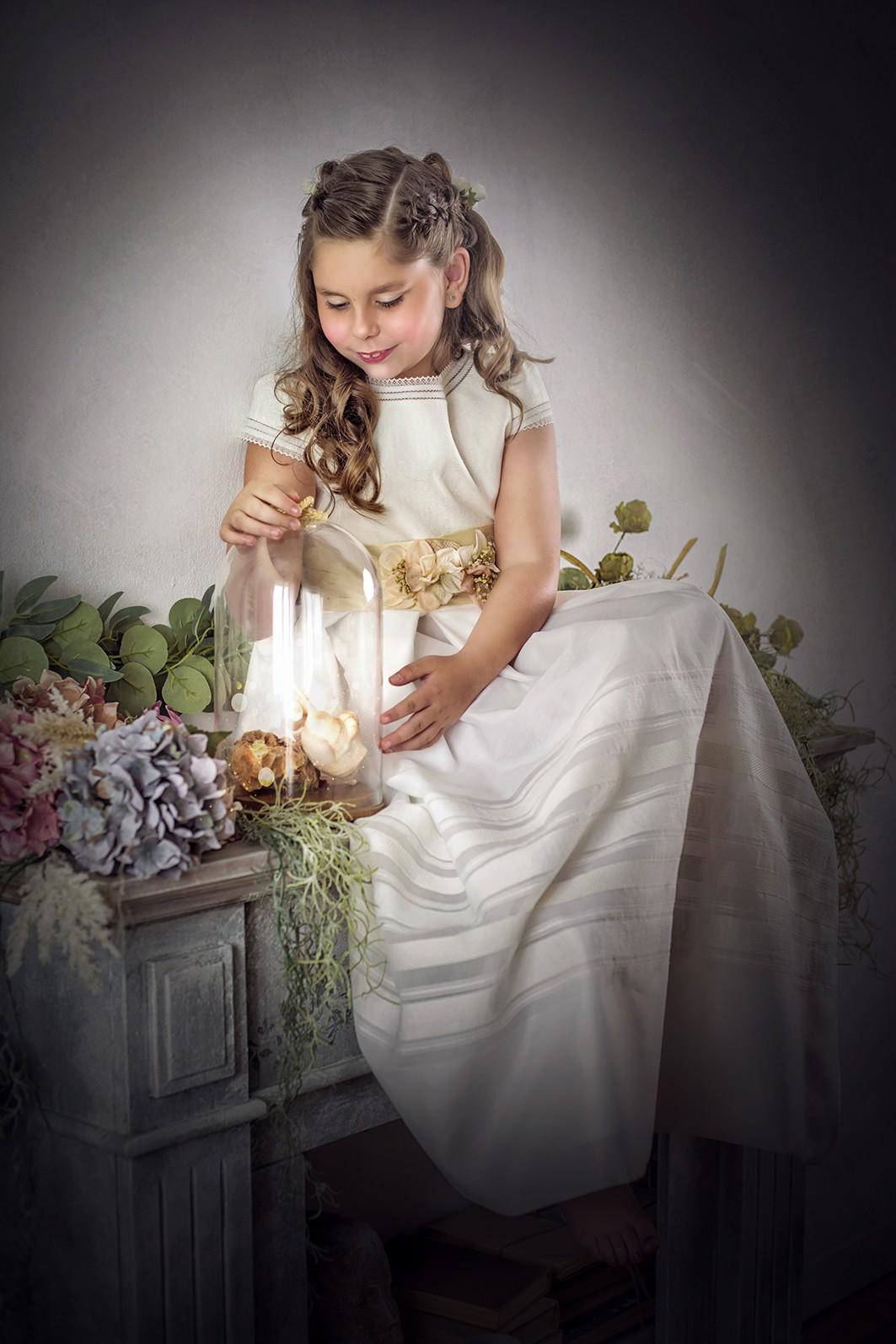 fotografa de niños y familias, comunión Maira 02